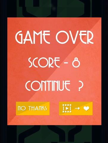 Keep it flowing, game over logo, avakai games