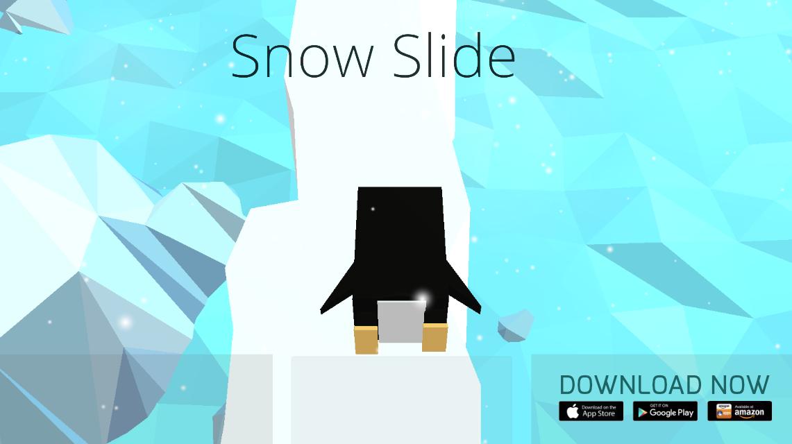 Snow Slide game, Avakai games, indie game