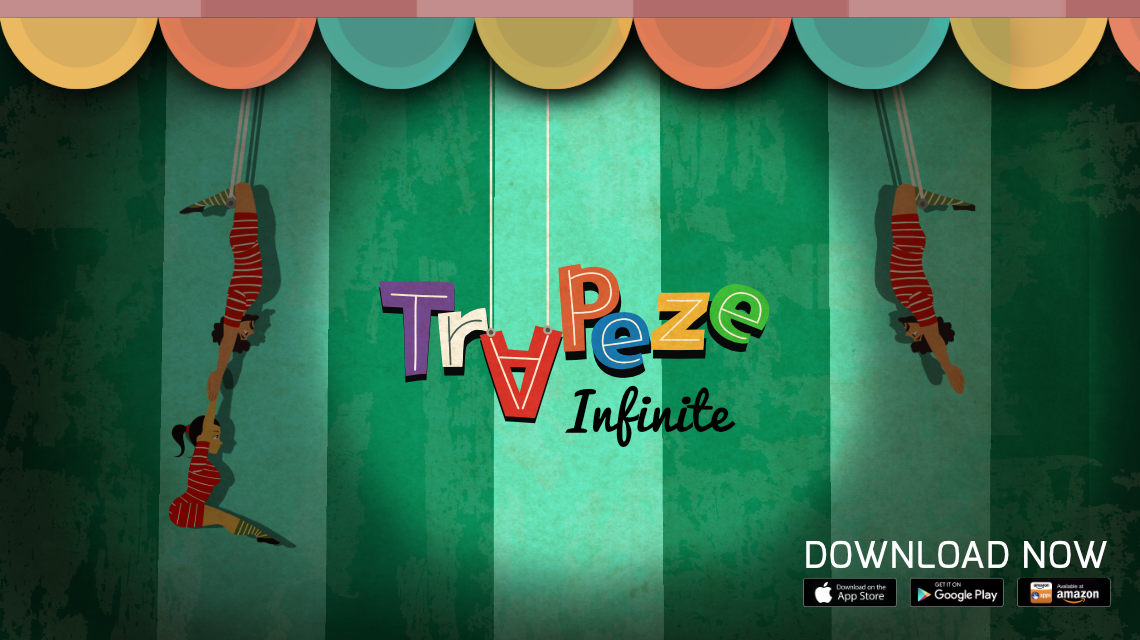 Trapeze Infinite, circus game, game dev