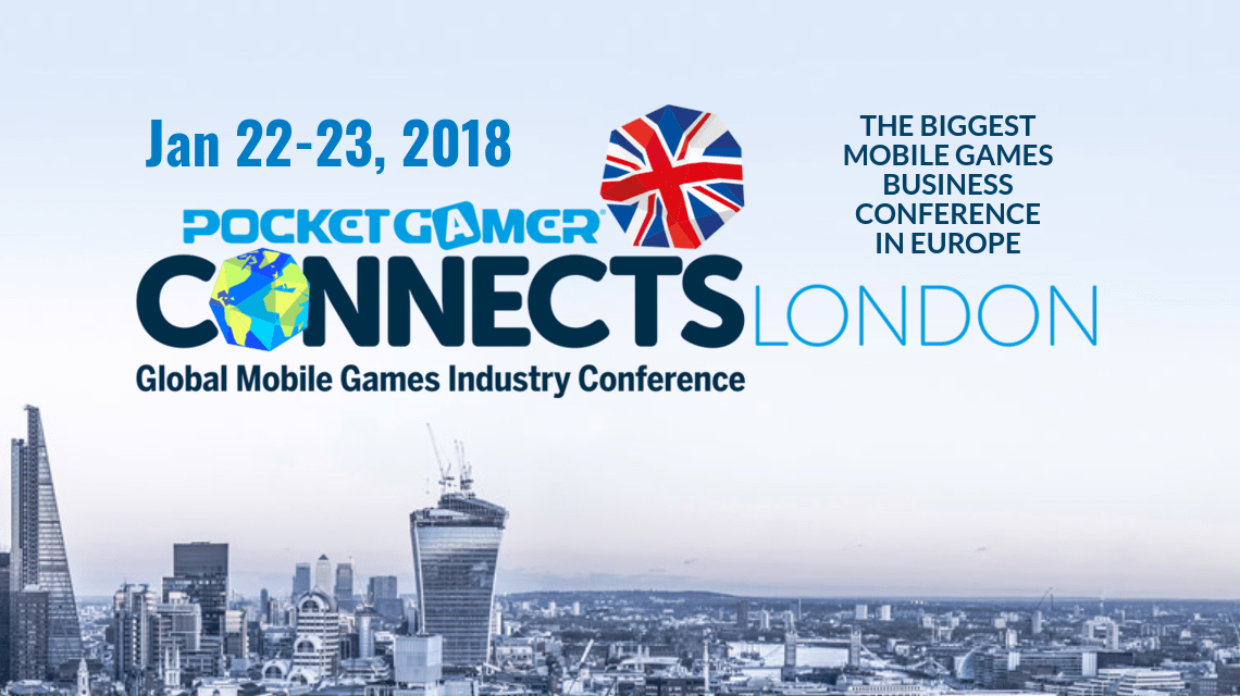 PG Connects London 2018, london game event