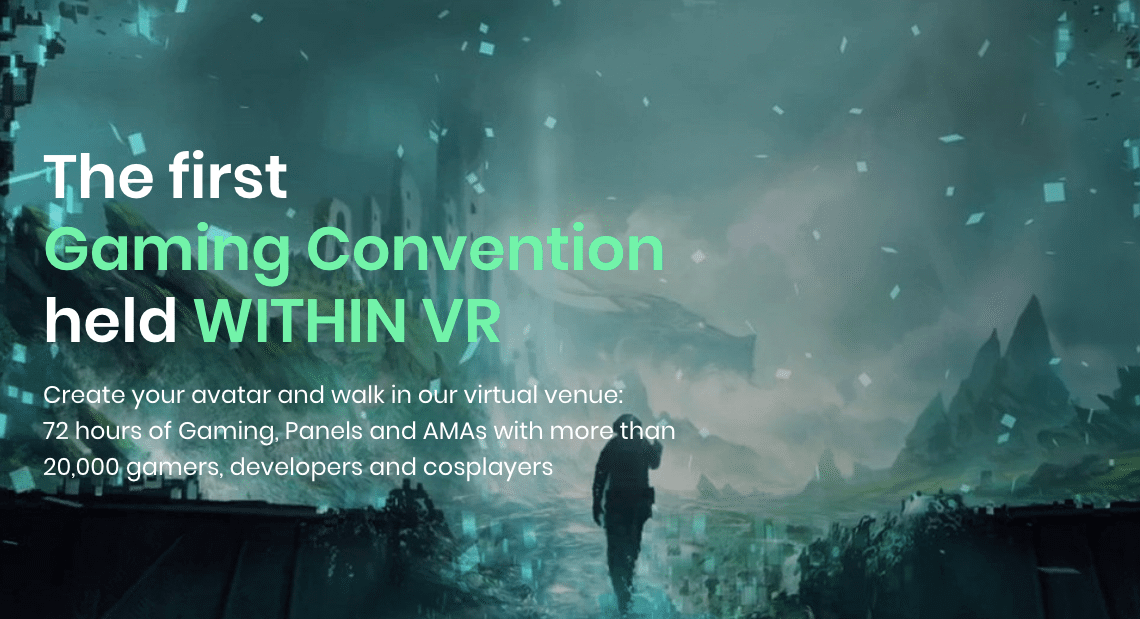 IN-VR Gaming Convention, Avakai games, vr gaming