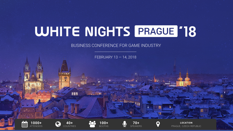 White Nights Prague 2018, game dev event, Avakai Games